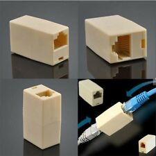 Cat5 RJ45 Lan Network Ethernet Cable Extender Joiner Adapter Coupler Connector E
