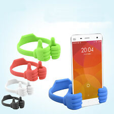 Universal OK Thumb Mount Flexible Stand Holder For iPhone4/5/6 Mobile Phone iPad