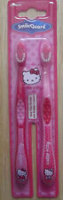 hello kitty twin pack toothbrushes -easy grip handle