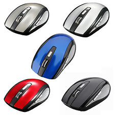 New Hot 2.4G Wireless Optical Mouse Mice + USB Receiver for PC Laptop Notebook #