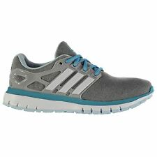 Adidas Energy Cloud Running Shoes Womens Grey/White/Blue Run Trainers Sneakers