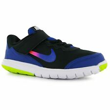 Nike Flex Experience Print Trainers Junior Girls Blk/Blue/Pink Sports Sneakers