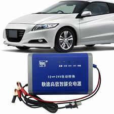 12V 10A Motorcycle Battery Charger 12V/24V Switching Car Power Supply Adaptor F5