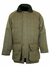 Bronte Mens Derby Tweed Shooting Jacket ideal - Hunting Beating Country Sports