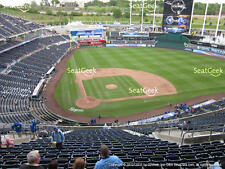 1-2 Los Angeles Angels @ Kansas City Royals Tickets H-V Box 425; S 4/16/17