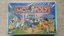 NEW! Vintage Disney Edition Monopoly Board Game 2001 From Parker Brothers