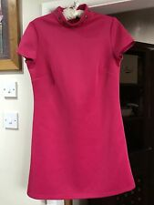 Fearne Cotton Pink dress stud detailing on collar  Size 12