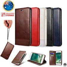 New Luxury Magnetic Flip Wallet Leather Stand Case Cover For iPhone 7 6S &7 Plus