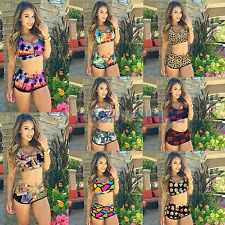 Sexy Womens Push-up Bra Bathing Suit High Waisted Bikini Beach Swimwear Swimsuit