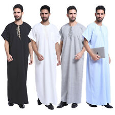 Men Robe Dishdasha Islamic Arab Kaftan Men Thobe Thobe Abaya Dubai Clothes Hot