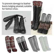 Useful Boots Knee High Shoes Support Stand Rack PVC Tasteless Boot Support F5