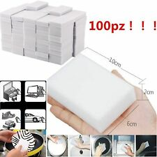 10/100Pcs Magic Sponge Eraser Cleaning Melamine Multi-functional Foam Cleaner DP
