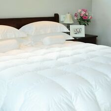 LUXURY HOTEL QUALITY 40% GOOSE DOWN & 60% GOOSE FEATHER DUVET QUILT 13.5-15 TOG