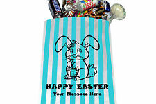 Personalised Easter Sweet Bags - Choice of Colour and Wording