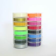 Refill Tape 9mm for Motex Label Maker Various Colours