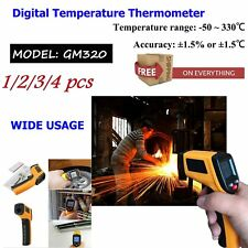 4PCS Nice Non-Contact LCD IR Laser Infrared Digital Temperature Thermometer Gun!