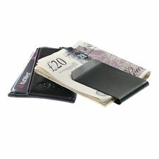 Luxury New Quality Soft Leather Credit Card Holder Wallet Money Clip Men's Gift