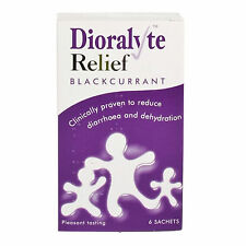 Dioralyte Relief Blackcurrant Rehydration Sachets 6 - Multibuy