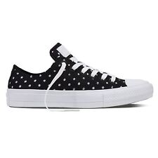 Converse Womens Chuck II Shield Low Top Synthetic Trainers