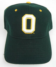 OREGON DUCKS NCAA VINTAGE FITTED SIZED ZEPHYR DH CAP HAT NWT!