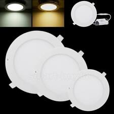 21W 18W 15W 12W 9W 6W Dimmable LED Recessed Ceiling Lights Panel Downlight Bulbs