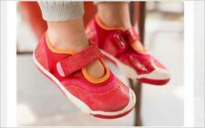 NEW PLAE 'Emme' Girls Mary Jane Shoes Ruby Shimmer 2.5 3 Youth Choose