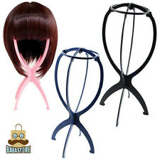 New Folding Plastic Stable Durable Wig Hair Hat Cap Holder Stand Display Tool#V6