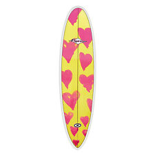 "Osprey 7ft 6"" Epoxy Band Mini Mal Surfboard with Triple Fin Set Up"