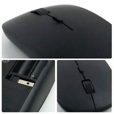 Fashionable Design New 2.4G Wireless Ultra-Thin Optical Mouse for Laptop BlackDP