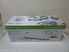 Cricut Explore One Design & Cut Machine Tool Bundle