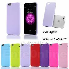 Soft Rubber Silm TPU Skin Bumper Jelly Cute Case Cover For Apple iPhone 6 6s