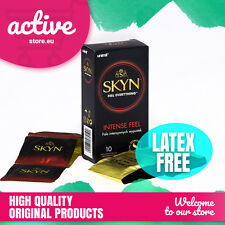 SKYN INTENSE FEEL CONDOMS Polyisoprene Unimil Lifestyles Mates DOTTED NON LATEX