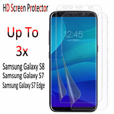 Upto 3X Ultra Crystal Clear HD Screen Protector For Samsung Galaxy S8 S7 Edge S7