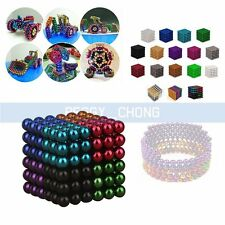 216pcs 5mm Magic Square Magnet Balls Magnetic DIY Beads Sphere N35 Cube Toy【US】