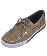 "Nautica Boys' ""Spinnaker"" Boat Shoes (Youth Sizes 13 - 6)"