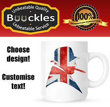 Churchill Winston Bust UK  Mug Personalised Gift Idea Brexit Present Cup