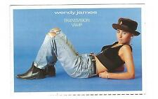 Wendy James from Transvision Vamp 1989 - Postcard from Smash Hits