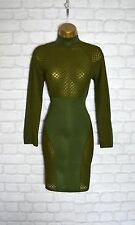 ~ZARA~ Green Celeb Bodycon Evening Midi Pencil Wiggle Party Dress 8 10 12 14