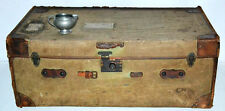 Early 20c Vintage William Whiteley Trunk for Coffee Table or Storage [PL3317]