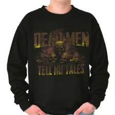 Pirates Of The Carribean Cool Dead Men Tell No Tales Disney Sweatshirt