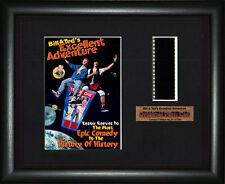 BILL & TED'S EXCELLENT ADVENTURE     Keanu Reeves     FRAMED MOVIE FILMCELLS
