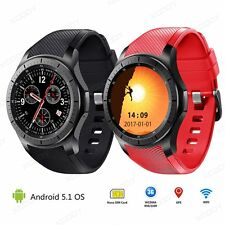 3G Smart Watch Android Bluetooth 8GB Heart Rate Phone Mate GPS WIFI For iOS HTC