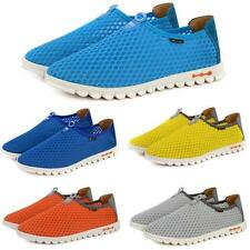 Mens Casual mesh slip on loafer Shoes Summer Sandals Breath athletic sneaker