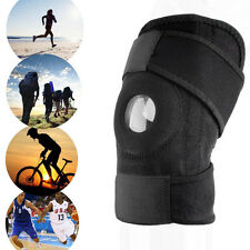 Adjustable Strap Elastic Patella Sports Support Brace Black Neoprene Knee HOT GF