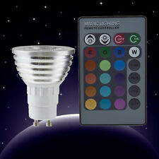 New Pro 5W E27 Multi Color Change RGB LED Light Bulb Lamp with Remote Control GF