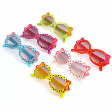 Fashion Baby Kids Children Sun Glasses Plastic Sunglasses Girls Bow Eyewear XP