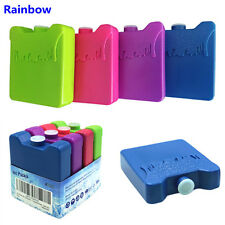 4pcs Colorful ice box Cooler Ice Reusable Lunch Box Freezer pack Non-Toxic safe