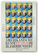 POP ART PRINT 25 Colored Marilyns by Andy Warhol