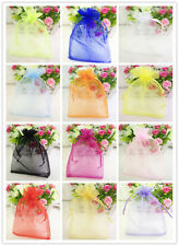 20/50/100pcs 13*18cm Organza Gift Bags Wedding Party Packaging Pouches gift