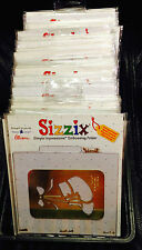 Pick choice of ~ SIZZIX EMBOSSING FOLDERS ~ Lots Brass Stencil Cuttlebug Set #2